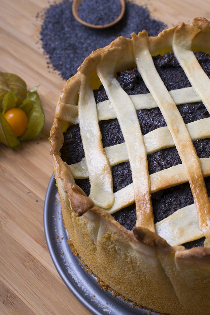 Mohnkuchen eat vegan for Kuchen unterschrank 150 cm