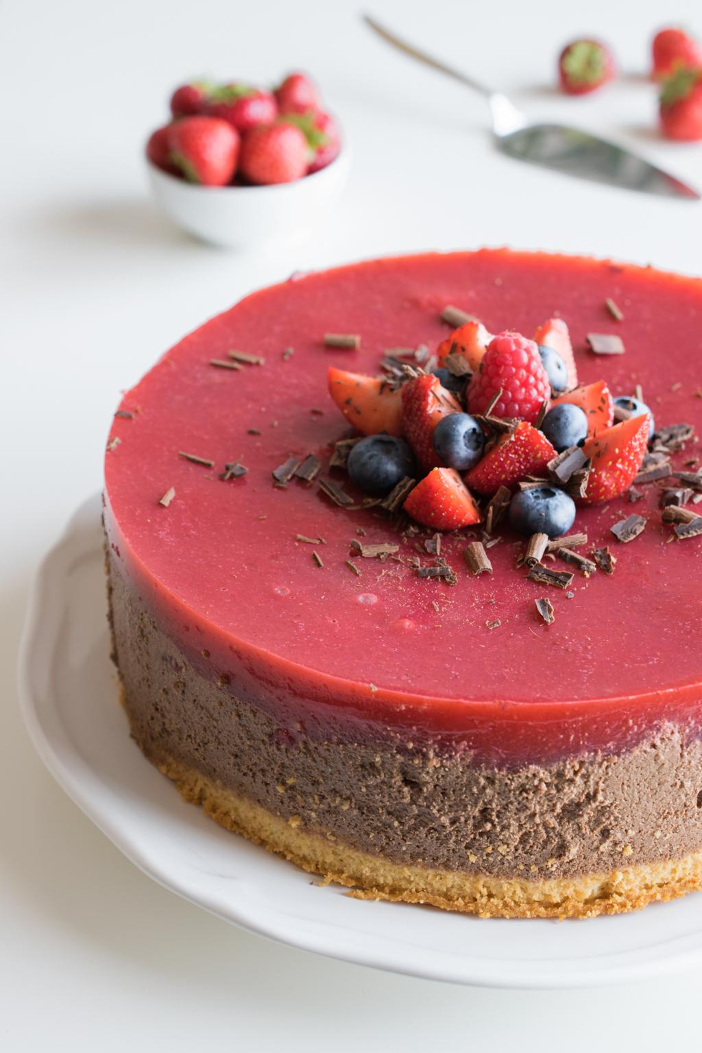 Erdbeer_Mousse_au_Chocolat_Kuchen_1